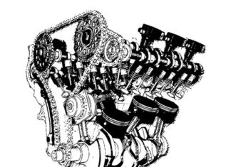 silnik i koła pasowe